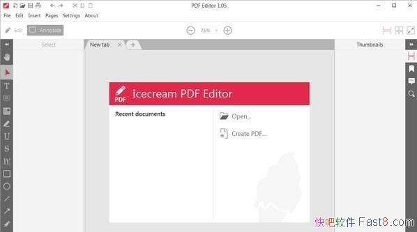 Icecream PDF Editor 2.21 中文绿色版/可以支持修改内容